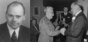 Op 15 december 1982 werd door Prins Bernhard aan Jan Arend v.d. Sluis het verzetskruis posthuum uitreikt. Zijn weduwe Saakje v.d. Sluis - v.d. Sluis nam het in ontvangst. De foto links van Jan v.d. Sluis werd omstreeks 1942 gemaakt. Tijdens de Tweede wereldoorlog heeft Jan v.d. Sluis veel Joden geholpen om onder te duiken.